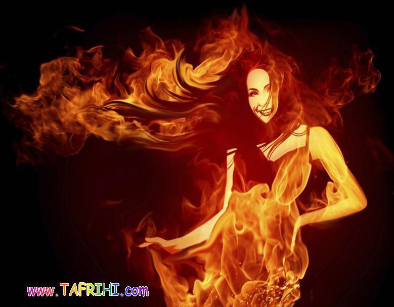 عکسهایی زیبا با آتش