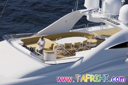 قایق تفریحی تند رو که دارای قیمت ۳۰ میلیون یورو