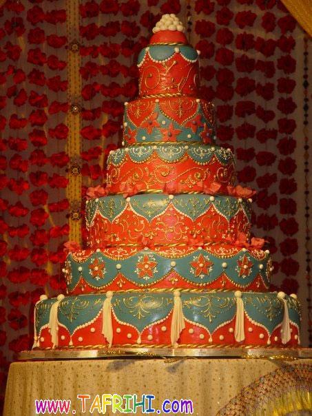 نمایشگاهی دیدنی از کیک عروسی در کویت