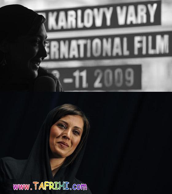 عکس نیکی کریمی و مهتاب کرامتی در جشنواره ای در چک