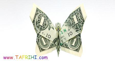 درست کردن اشکال جالب با یک دلاری