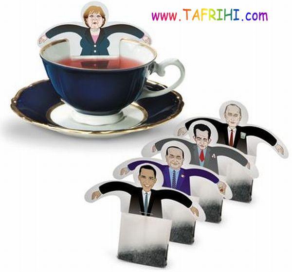 چای کیسه هایی به شکل های جالب