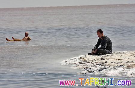 لجن درمانی در دریاچه ارومیه