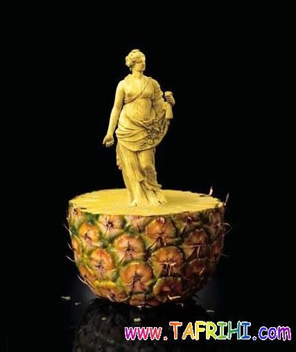 عکس های زیبا از هنر نمایی با غذا