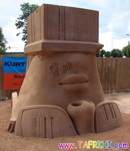 عکس: مجسمه های شنی دیدنی از سراسر جهان