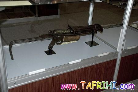 کلکسیون تفنگ در موزه پلیس پاراگوئه
