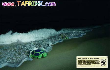 تبلیغات های جالب در جهت حفظ محیط زیست