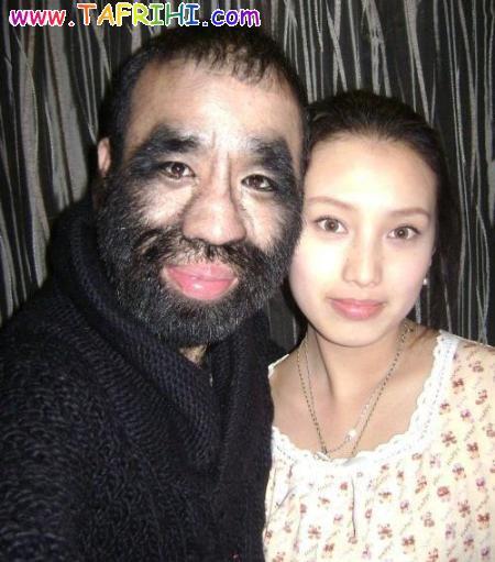 عکس هایی از پر مو ترین مرد جهان و همسرش Tafrihi.Com